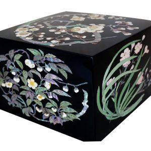 飾り箱 花丸