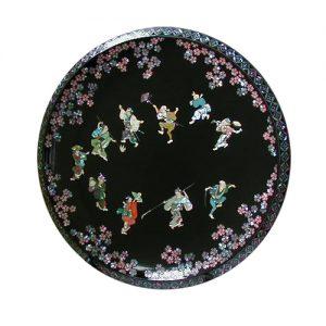 螺鈿飾皿 元禄