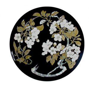 飾り皿 花丸桜