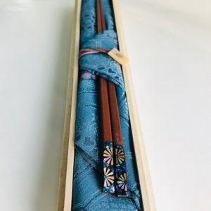 天そげ摺り漆箸 唐松