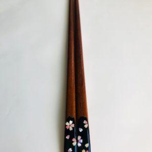 摺り漆箸 さくら