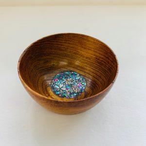 螺鈿盃(拭きうるし仕様・小桜)