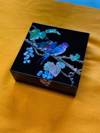 花鳥 ジュエリーボックス (特注)
