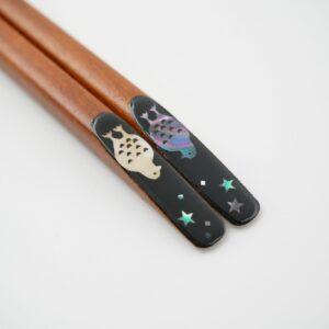 螺鈿箸 animal ライチョウ