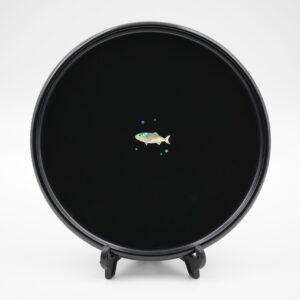 7寸丸皿 富山湾の幸 ぶり
